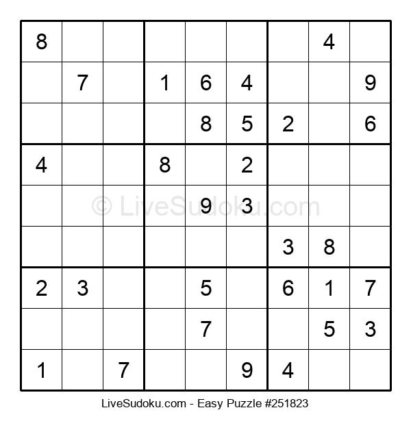 Beginners Puzzle #251823