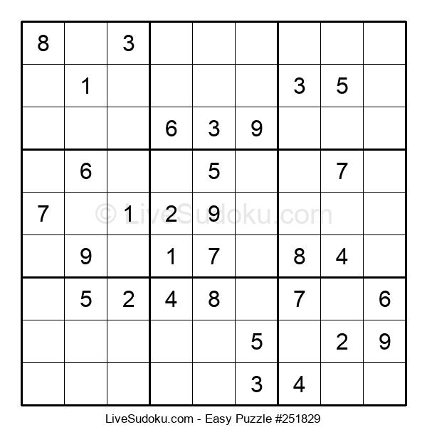 Beginners Puzzle #251829
