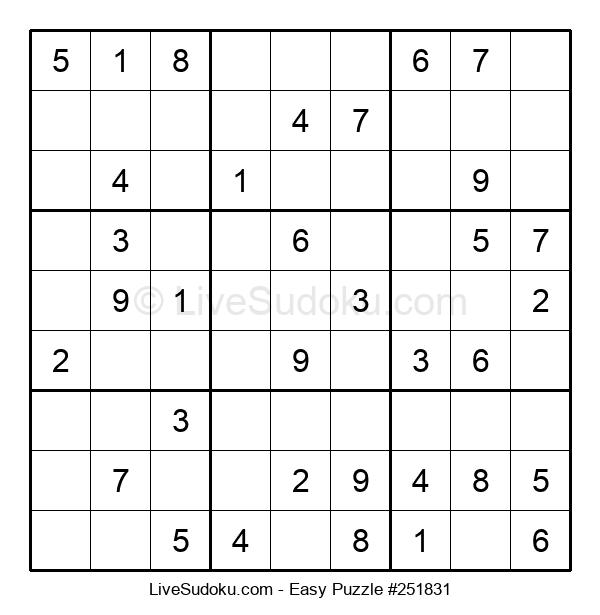Beginners Puzzle #251831