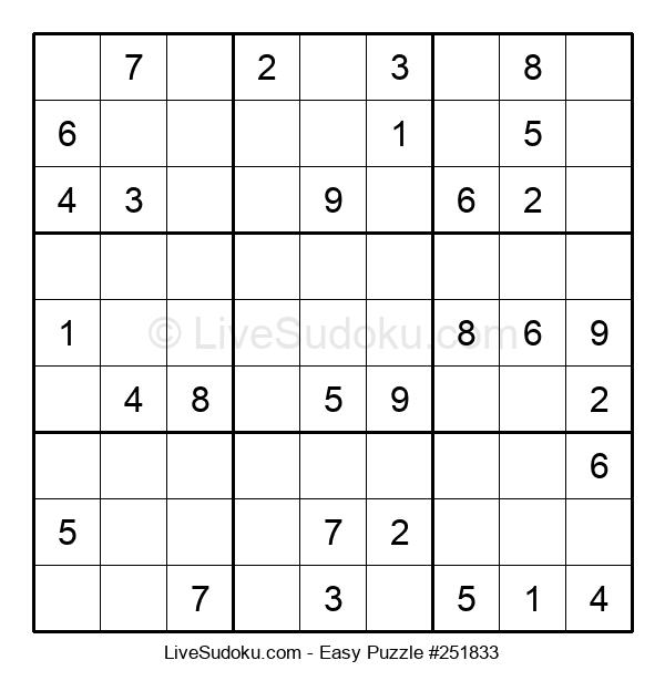 Beginners Puzzle #251833