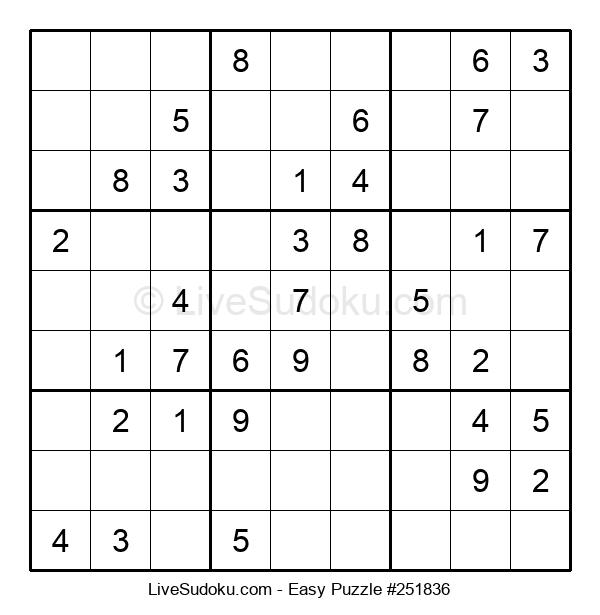 Beginners Puzzle #251836