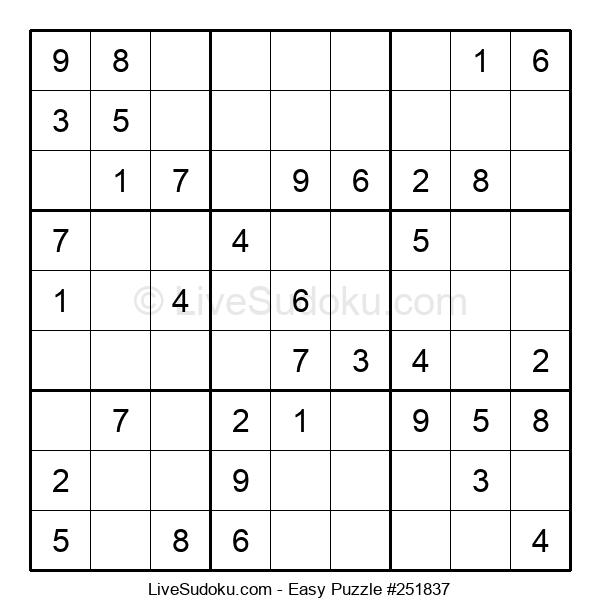 Beginners Puzzle #251837