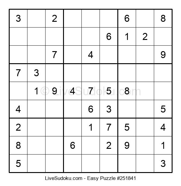 Beginners Puzzle #251841