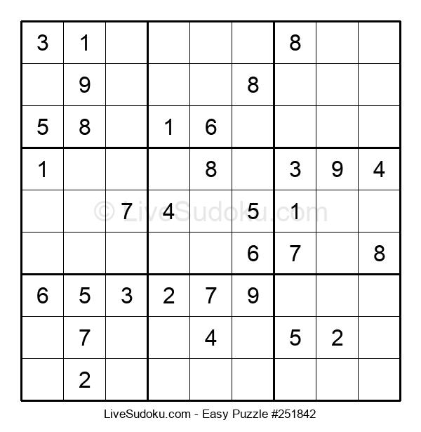 Beginners Puzzle #251842