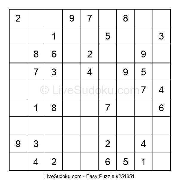 Beginners Puzzle #251851