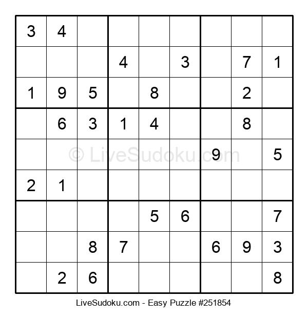 Beginners Puzzle #251854