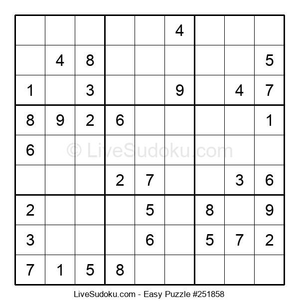 Beginners Puzzle #251858