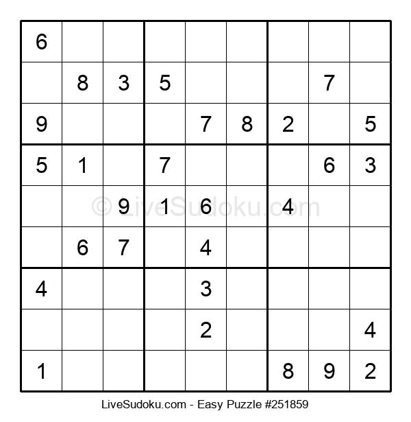 Beginners Puzzle #251859
