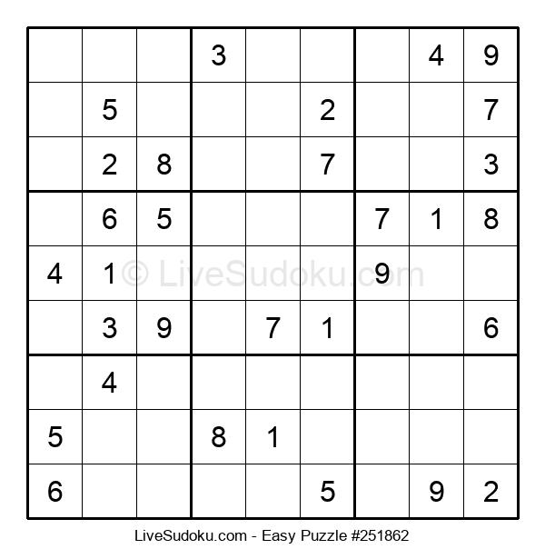 Beginners Puzzle #251862