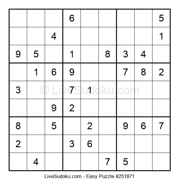 Beginners Puzzle #251871