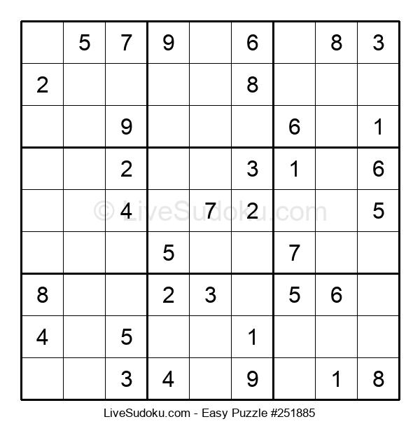 Beginners Puzzle #251885