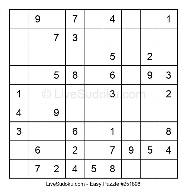 Beginners Puzzle #251898