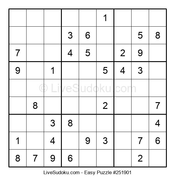 Beginners Puzzle #251901