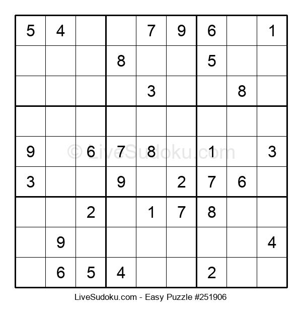 Beginners Puzzle #251906