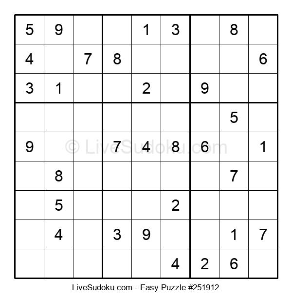 Beginners Puzzle #251912