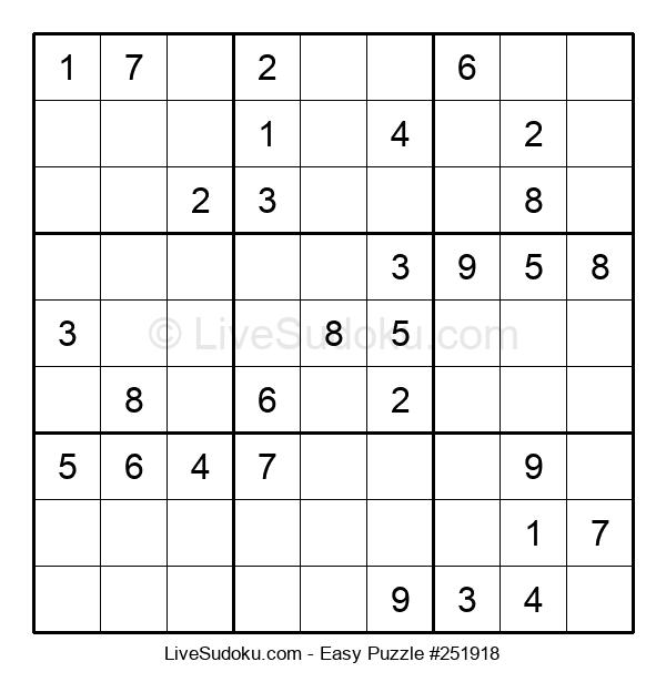 Beginners Puzzle #251918