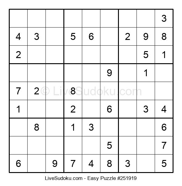 Beginners Puzzle #251919