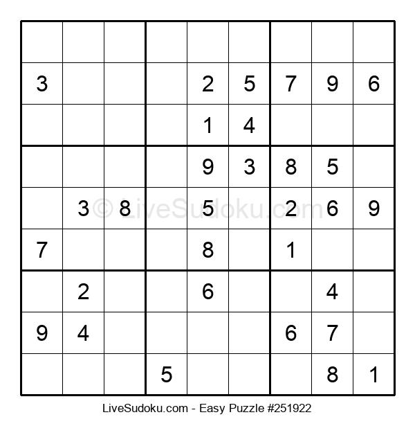 Beginners Puzzle #251922