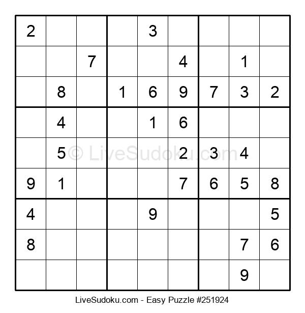Beginners Puzzle #251924