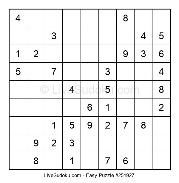 Beginners Puzzle #251927