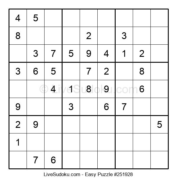 Beginners Puzzle #251928