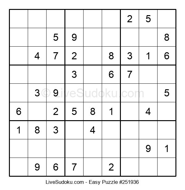 Beginners Puzzle #251936