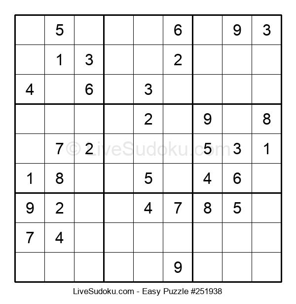 Beginners Puzzle #251938