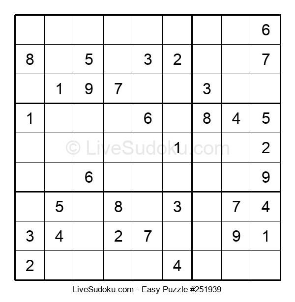 Beginners Puzzle #251939