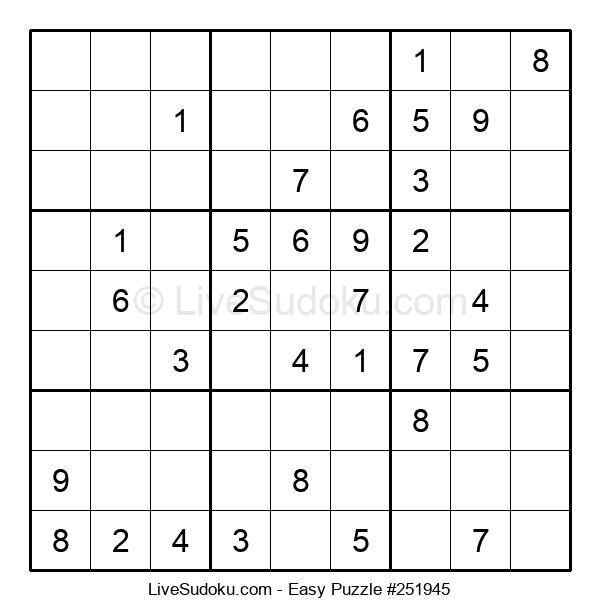Beginners Puzzle #251945