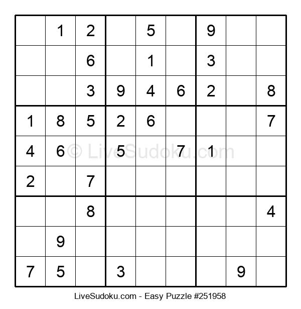 Beginners Puzzle #251958