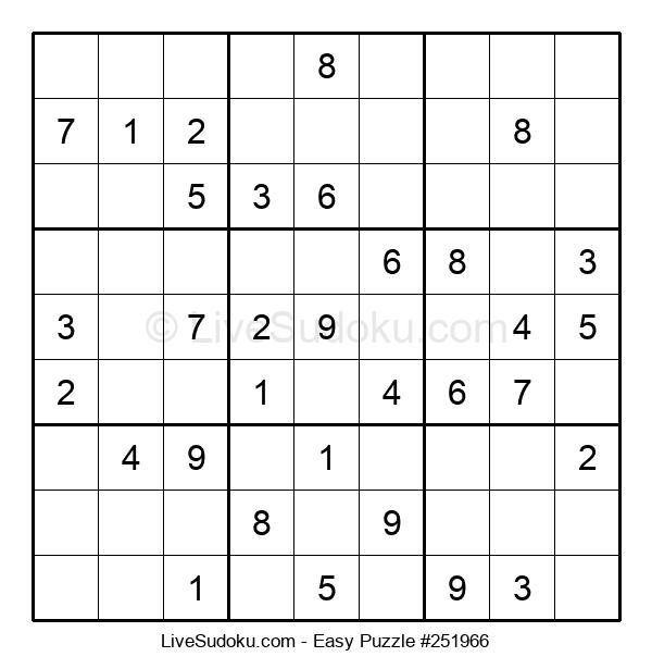 Beginners Puzzle #251966