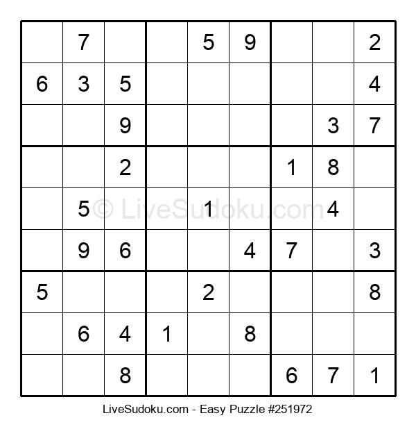 Beginners Puzzle #251972