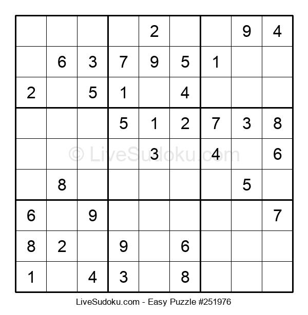 Beginners Puzzle #251976