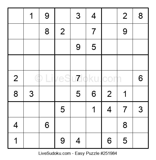 Beginners Puzzle #251984