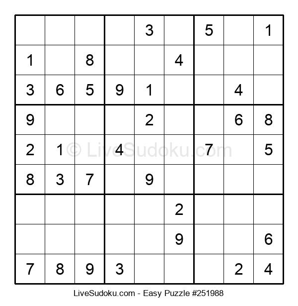 Beginners Puzzle #251988