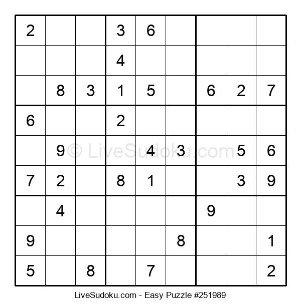 Beginners Puzzle #251989