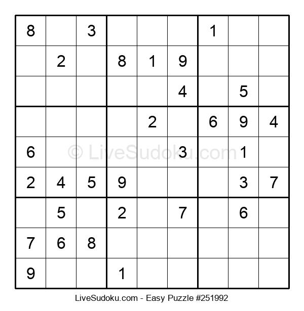 Beginners Puzzle #251992