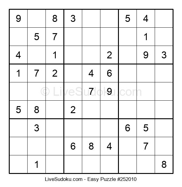 Beginners Puzzle #252010