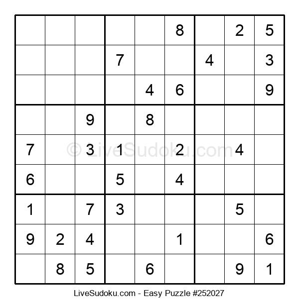 Beginners Puzzle #252027