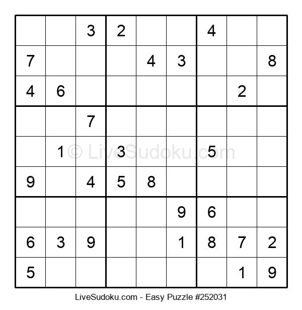 Beginners Puzzle #252031