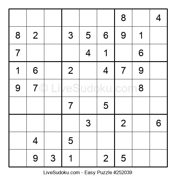 Beginners Puzzle #252039