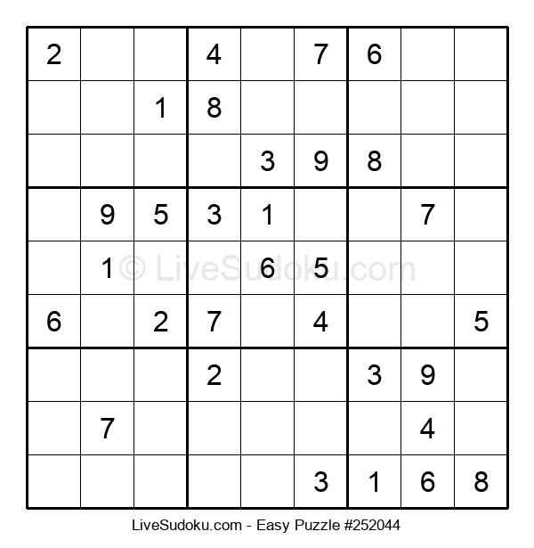 Beginners Puzzle #252044