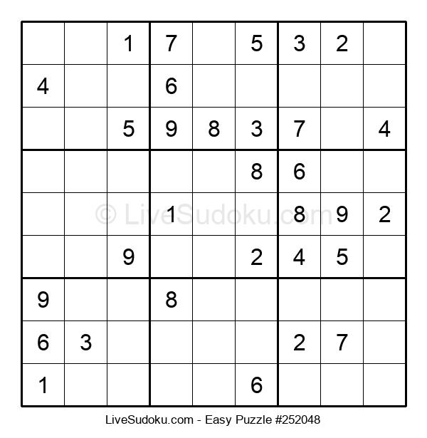 Beginners Puzzle #252048