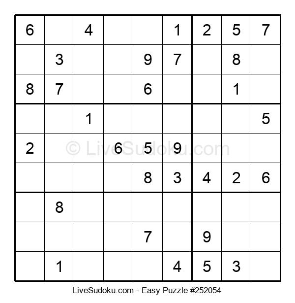 Beginners Puzzle #252054