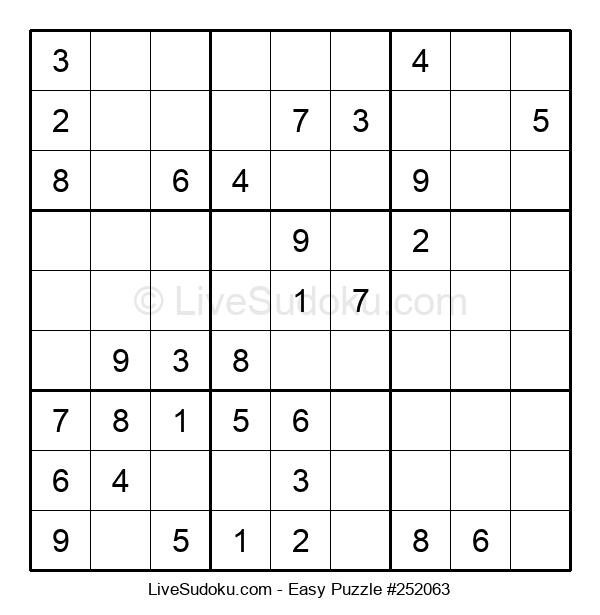Beginners Puzzle #252063