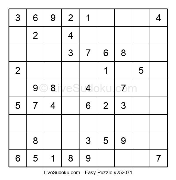 Beginners Puzzle #252071