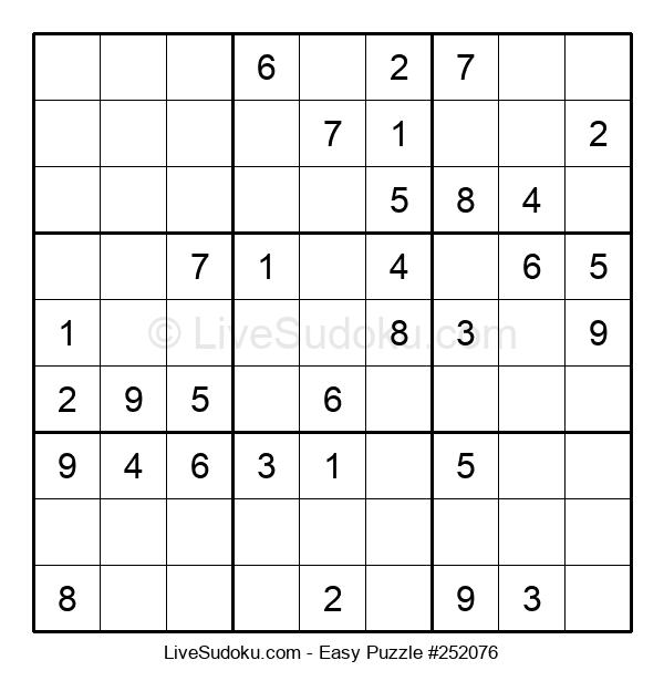 Beginners Puzzle #252076