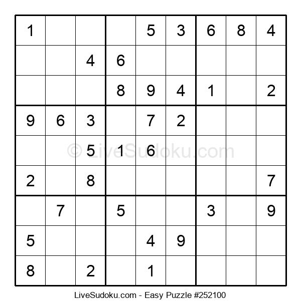 Beginners Puzzle #252100