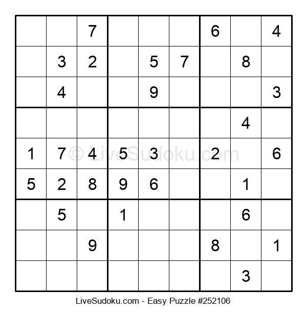 Beginners Puzzle #252106