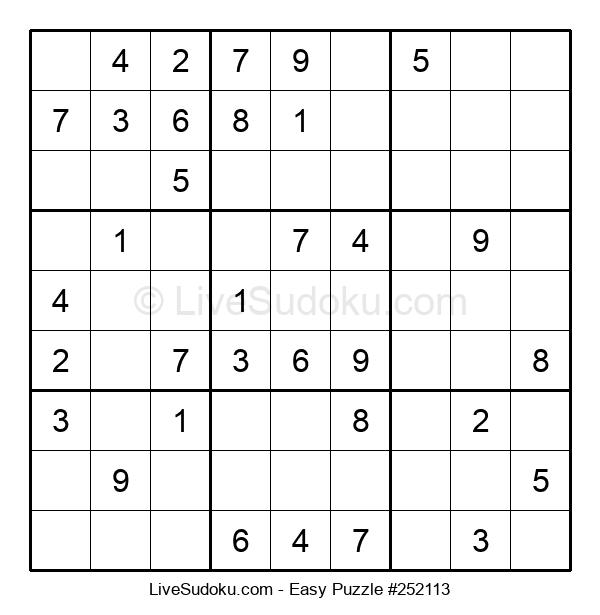 Beginners Puzzle #252113